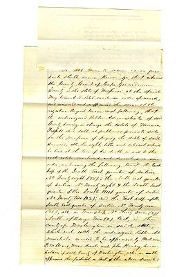 256px-Deed_signed_H.H.M._Williams,_Public_Administrator_of_the_Estate_of_Mason_Frisell,_Cape_Girardeau_County,_September_1,_1866